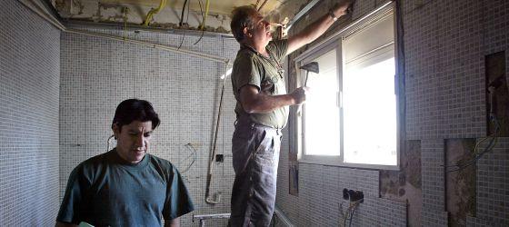 La rebaja en el IBI pretende incentivar la rehabilitación energética de las casas y edificios.
