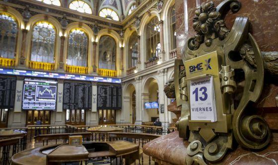 Vista general de la Bolsa española.