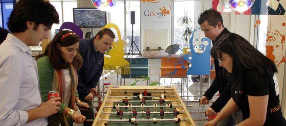 Oficinas de Google en Madrid.