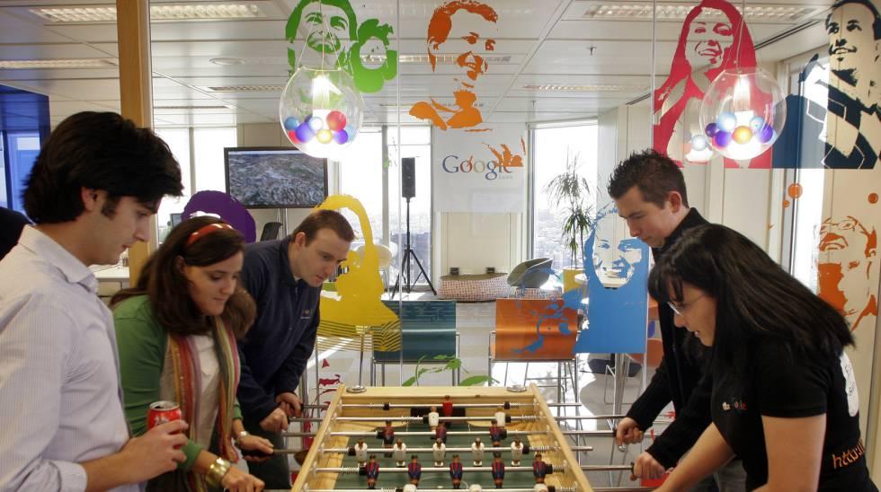 Las oficinas de Google en Madrid.