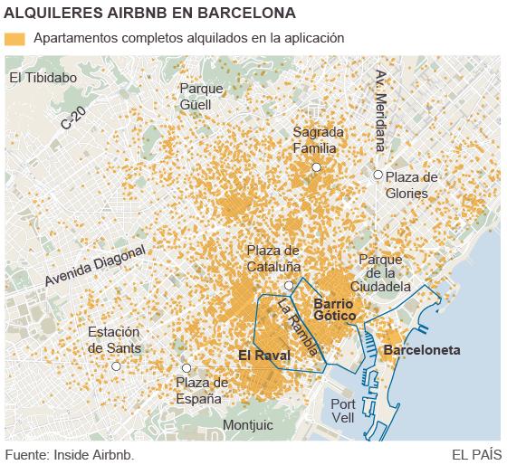 El 'efecto Airbnb' en el vecindario