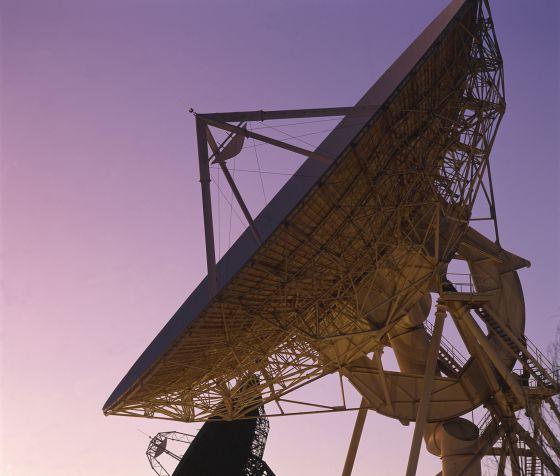 Antenas de comunicación.