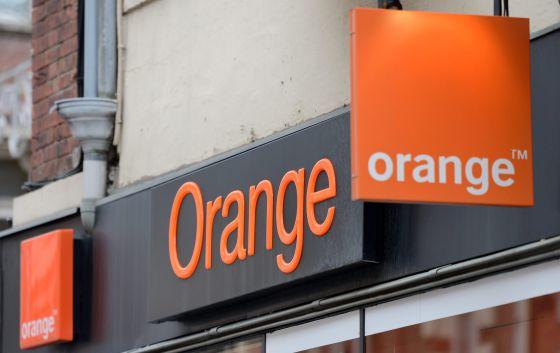 Una tienda Orange en Francia, el 18 de febrero de 2014.