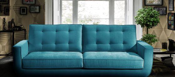 El sofá Sterling Cooper Retro está disponible en la plataforma PortobelloStreet a un precio desde 1.016