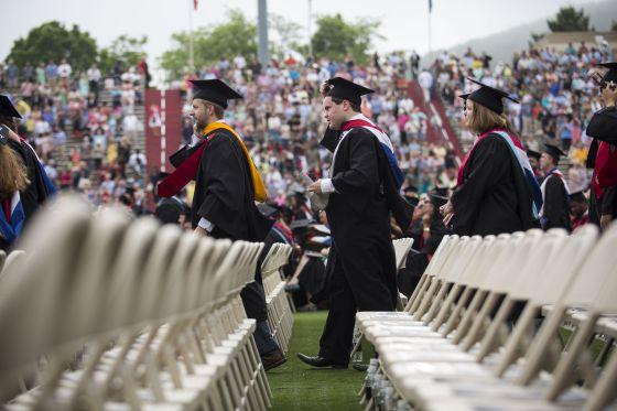 Ceremonia de graduación en Liberty University (Florida)