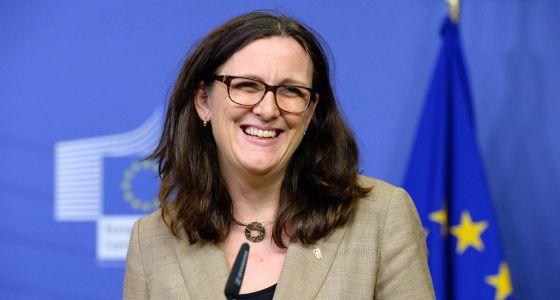 La comisaria de Comercio de la UE, Cecilia Malmström