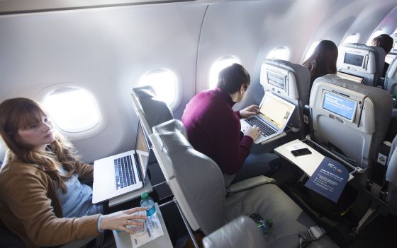Servicio wifi a bordo de JetBlue