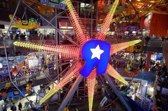 "Toys ""R"" Us en Times Square"