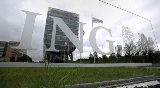 Sede de ING en Ámsterdam (Países Bajos).