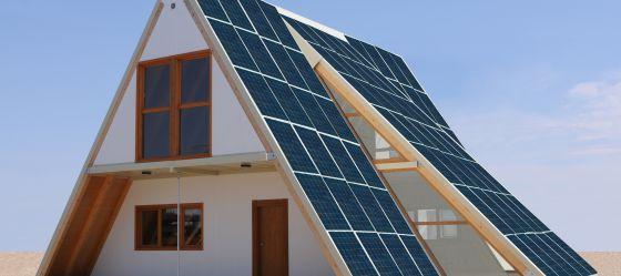 Proyecto de vivienda solar giratoria Ecodomus. La casa piloto está en Zaragoza.