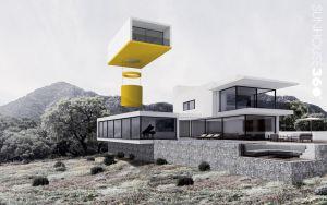 Plataforma giratoria para ser instalada en cualquier inmueble, incluso en edificios de viviendas ya construidos.