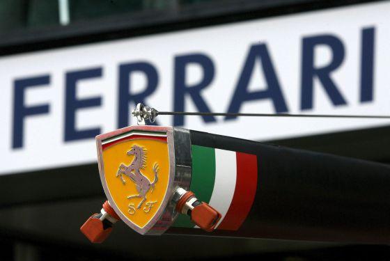 Logo de la escudería de Ferrari