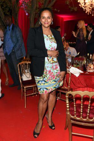 La angoleña Isabel dos Santos el pasado verano en Francia