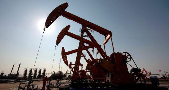 Imagen de pozos de petróleo
