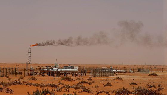Instalación de la petrolera Aramco en Arabia Saudí.