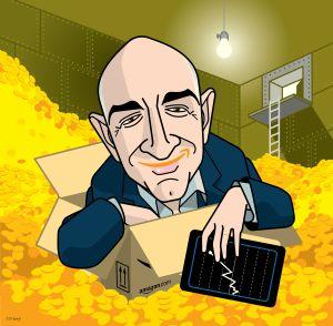 Bezos, el millonario austero