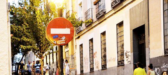 Vista del barrio de Malasaña (Madrid), donde hace un mes 123 inversores compraron un piso.