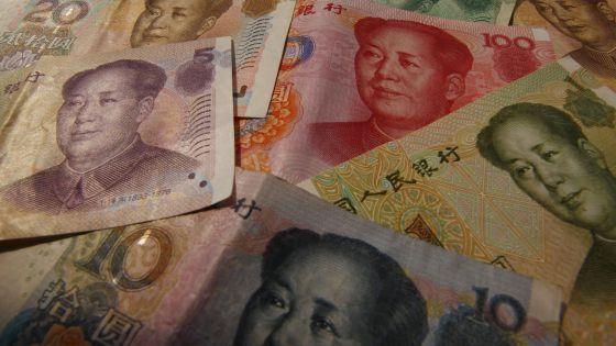 Billetes de yuan.
