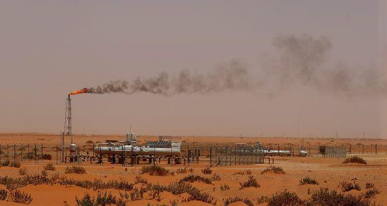 Unas instalaciones de Aramco a 160 kilómetros de Arabia Saudí