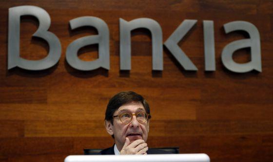 El presidente de Bankia, José Ignacio Goirigolzarri, en Madrid el 11 de enero de 2016.