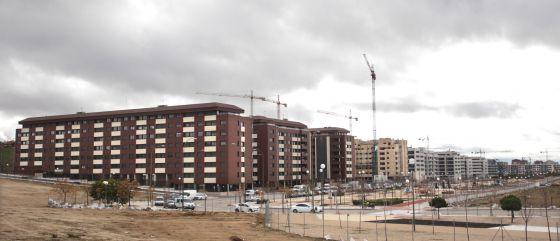 Una promoción de viviendas en Madrid