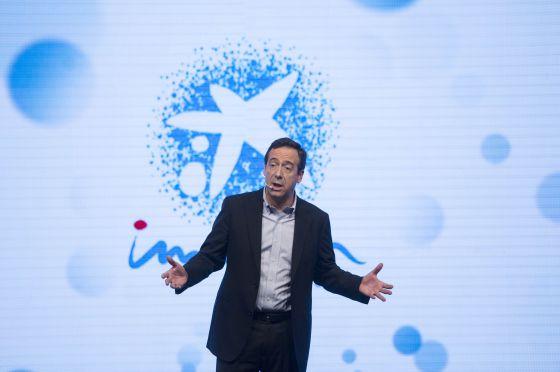 Gonzalo Gortázar, consejero delegado de CaixaBank, este jueves en Barcelona.