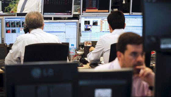 Oficinas de Ahorro Corporación, el grupo encargado de la subasta de bonos y letras del Tesoro.