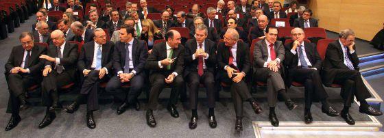 Sesión constitutiva de la Cámara de Comercio de España.