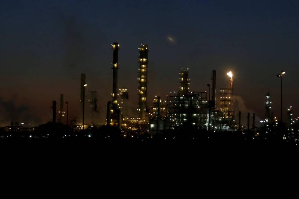 Una refinería en México