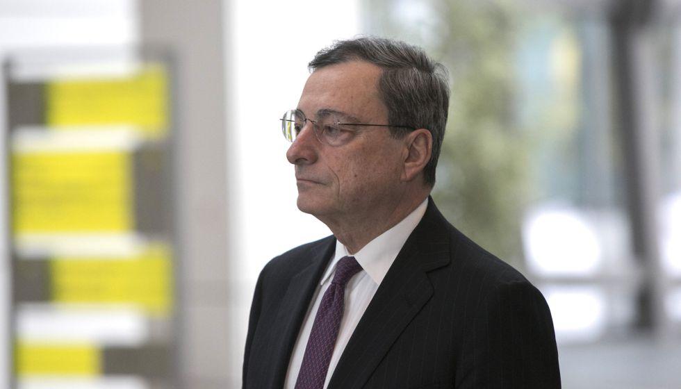 El presidente del eurobanco, Mario Draghi, en Frankfurt (Alemania), el 19 de enero de 2016.