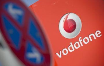 Logo de Vodafone. EFEArchivo