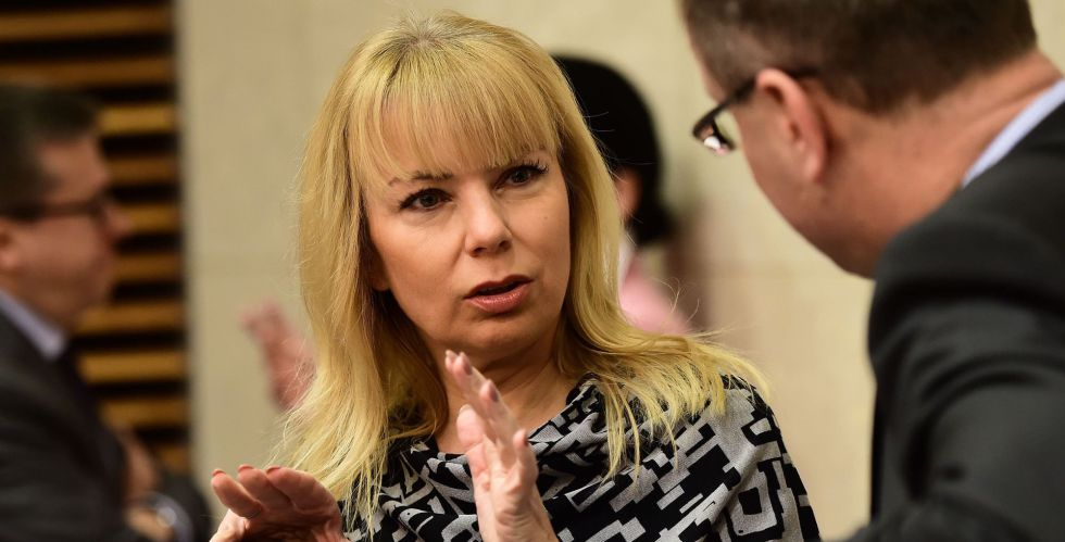 La comisaria europea Elzbieta Bienkowska