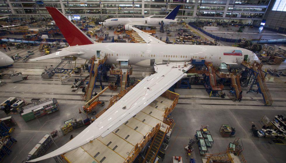 Uno de los nuevos aparatos de Boeing 787