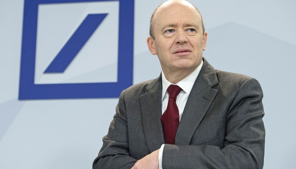 El consejero delegado de Deustsche Bank, John Cryan.