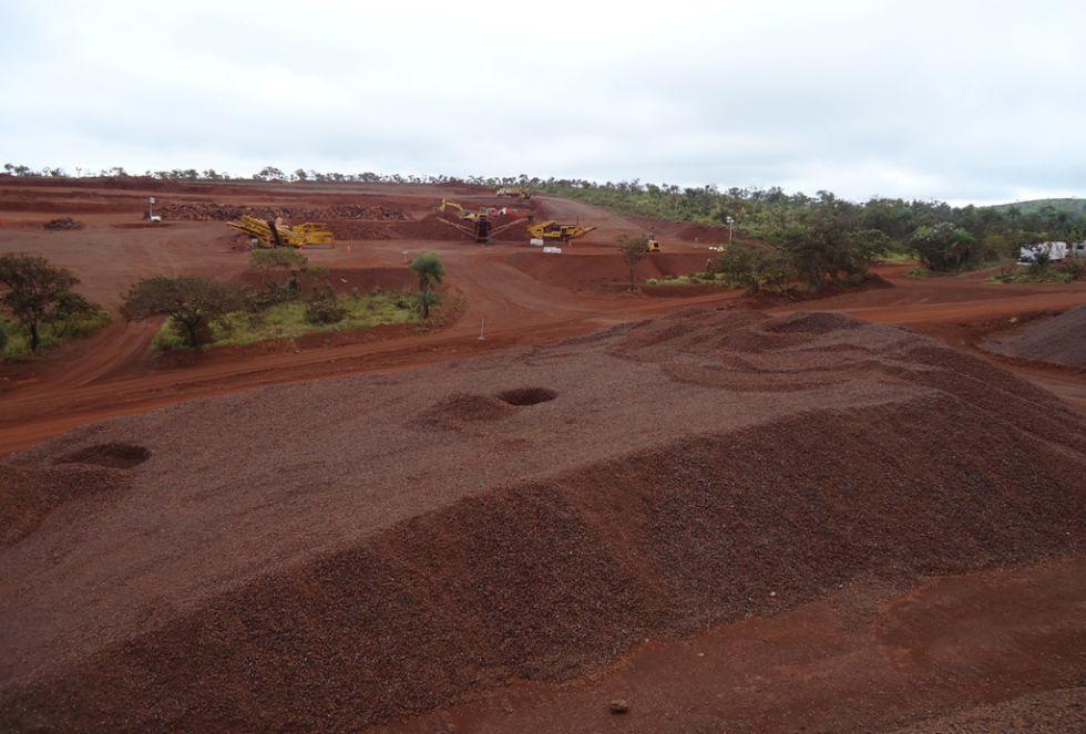 El Mutún es uno de los yacimientos más importantes de Sudamérica.