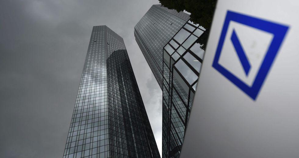 La sede del Deutsche Bank, en Fráncfort.