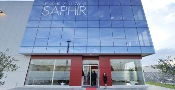 Central del grupo Saphir en Zaragoza.