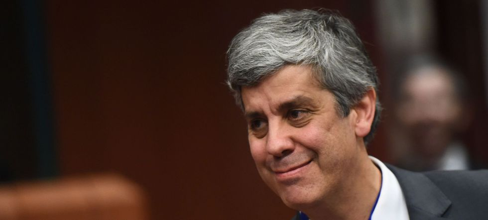 El ministro portugués de Finanzas, Mário Centeno.