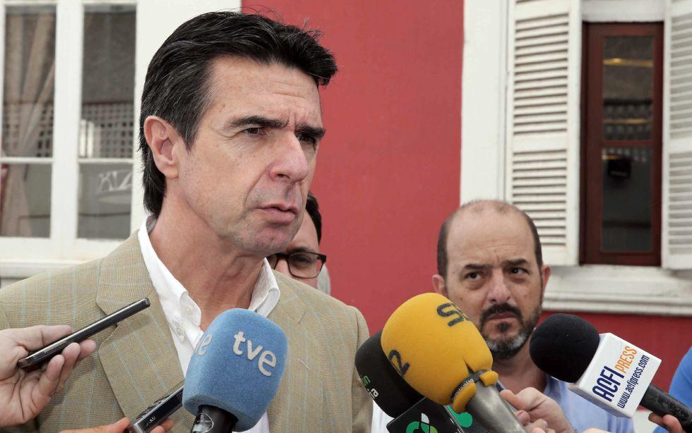 l ministro en funciones de Industria, Comercio y Turismo, José Manuel Soria