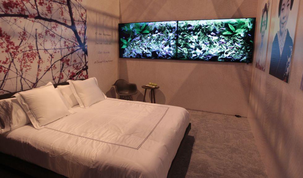Imagen del 'showroom' de Fitur 2016 dedicado al turismo del futuro.