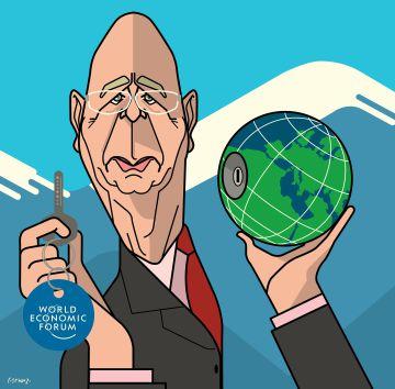 Schwab, el cerebro de Davos