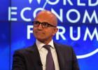 Los banqueros pierden su aura en Davos en favor de las tecnológicas