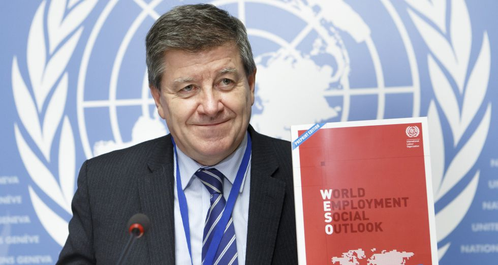 Guy Ryder, director general de la OIT.