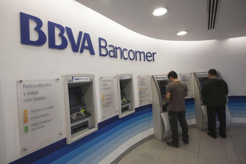 Una sucursal del BBVA Bancomer en México.