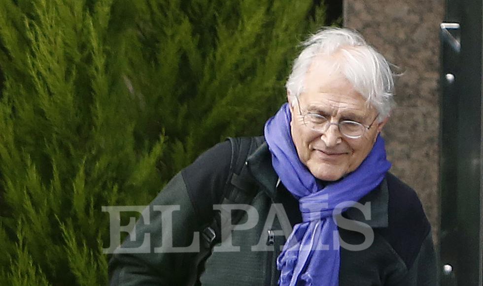 El empresario Agapito García, la semana pasada, en Madrid.
