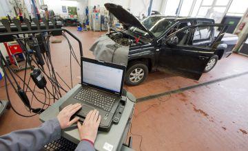 Un taller de Volkswagen en Hannover (Alemania).