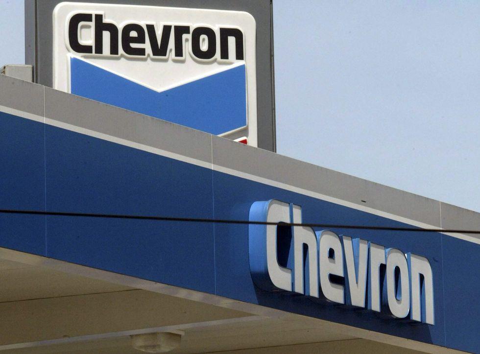 Surtidor de Chevron en Estados Unidos.