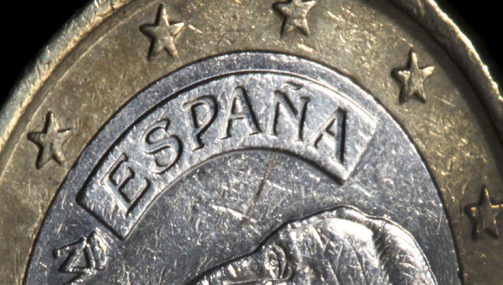 En la imagen, una moneda de euro.
