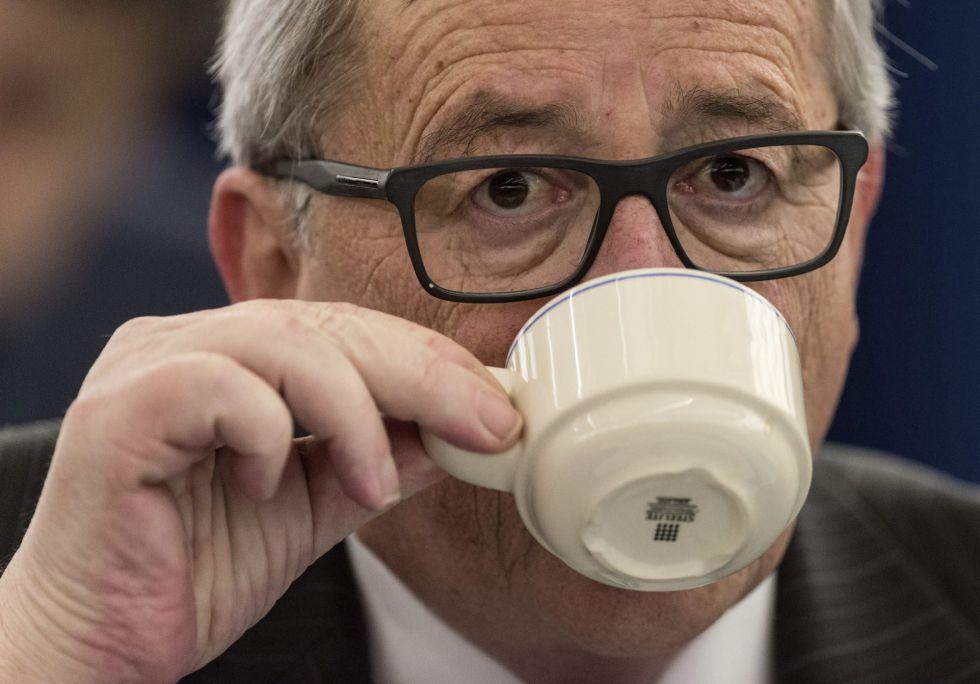 El presidente del Ejecutivo comunitario, Jean-Claude Juncker, en el Parlamento Europeo.