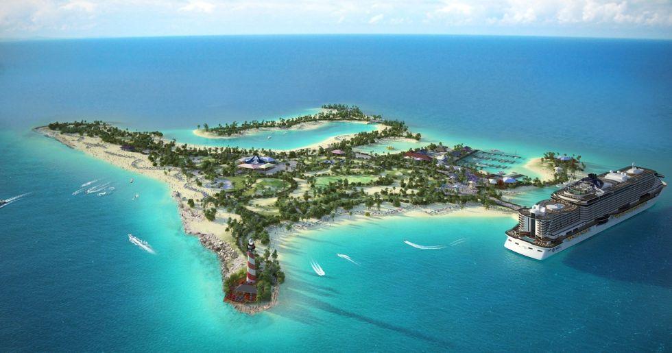 La moda de los gigantes turísticos: comprar islas solo para sus clientes